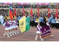 台南女中百歲校慶運動會 隊伍進場令人驚豔
