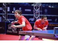 桌總年終賽/中國女桌包攬女單四強 陳夢、朱雨玲爭冠