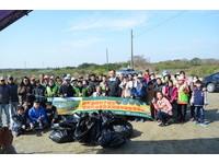 學甲濕地舉辦健走及淨灘活動 南市生態保育學會獲肯定