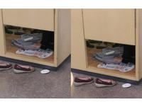 年輕女更衣間試穿「拿全新棉T墊腳」 目擊人:她一件都沒買