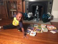 直播9小時看完100本書 4歲天真男童:長大想當忍者龜!