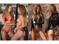 大學還沒畢業!21歲正妹雙胞胎「超胸」 自創泳衣品牌大熱賣