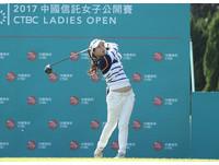 中信女子公開賽首回合 17歲台灣業餘侯羽薔領先
