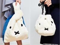 米菲兔也搭上今年的毛毛風潮!可愛又時尚的miffy聯名單品特搜