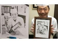 曾受日本師傅協助!他寄「親手繪畫+鳳梨酥」收到超暖笑容