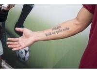 陳柏良刺青印上訓練營球衣 這句話讓他堅持足球路