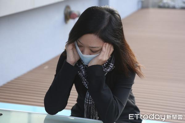 ▲偏頭痛,頭痛,感冒。(圖/記者黃克翔攝)