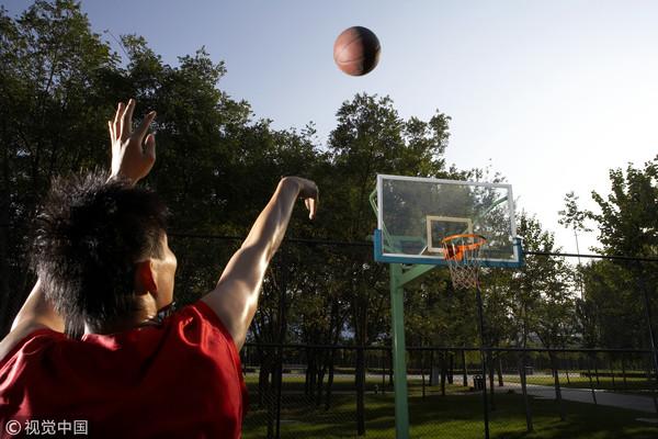 ▲籃球,球場,打球。(圖/視覺中國)