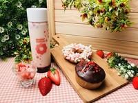 草莓季到了!甜甜圈「藍莓+草莓」雙倍限量新口味