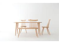 Kinoe讓樹枝的紋理重現 忠實的展現出椅子的溫潤與自然