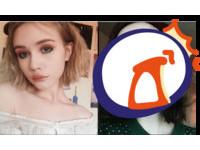 卸濃妝零修圖! 17歲網美大方秀「滿臉痘疤」驚嚇照