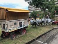 安平古早牛車意象毀損腐朽 市府浪費公帑嗎?