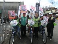幸福三輪車 南市議員參選人林志文:選舉乾淨無污染