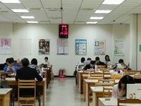 體貼參加學測學子 桃市圖假日自修室提早開放至1/28