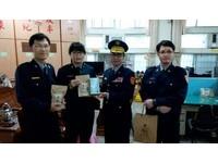 玉井分局關心員警  提供黑糖薑母茶及口罩抗寒
