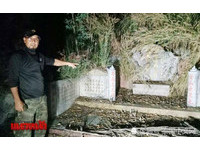 樹林深夜傳中文聲…一看「只有墳墓」 男嚇:收屍都沒遇過!