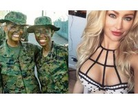 海陸女大兵「永遠流綠血」超耐操 大秀雪乳被求私密照
