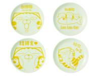 加價商品必入荷!台灣限量「白爛貓陶瓷盤」設計旁白超療癒