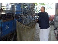 洗衣、賣冷飲攢錢…捐環保車+500萬 蘇金環縫回收袋結緣