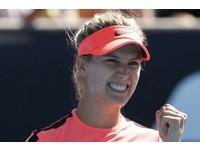 WTA台灣賽/爭議球員對決 布沙爾30日晚力抗中國朱琳