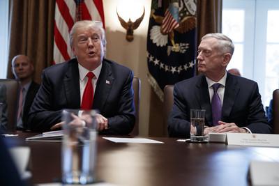 不滿辭職信狂頂嘴!川普要國防部長馬提斯「提早兩個月下台」