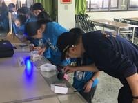 師生參訪二分局 藉機宣導加強重要節日為民服務工作