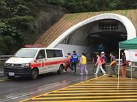 蘇花改蘇澳至東澳通車前演練 給用路人安全回家的路