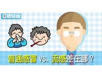 普通感冒vs.流感差在哪? 藥師解密:共同元凶竟是它!