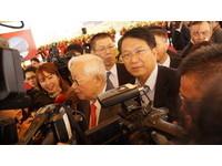 顏純左參加台積電動土 提出台南產業政策願景