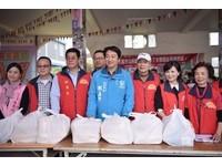 花蓮滿庭芳公益協會助弱勢 捐贈4400包白米等物資