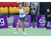 WTA台灣賽/台灣內戰張凱貞勝出 週二詹皓晴出擊