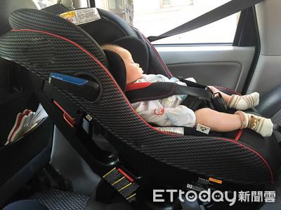「兒童後座貪吃」嗆傷!狂咳3天釀「吸入性肺炎」醫警告:車內別吃