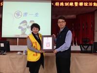 佳里分局警察志工訓練聯誼 楊華中頒獎表揚