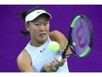 WTA台灣賽/張凱貞次盤連追5局 可惜無緣逆轉勝