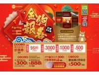 過年添好運 網購、電視購物抽紅包中獎率高達100%