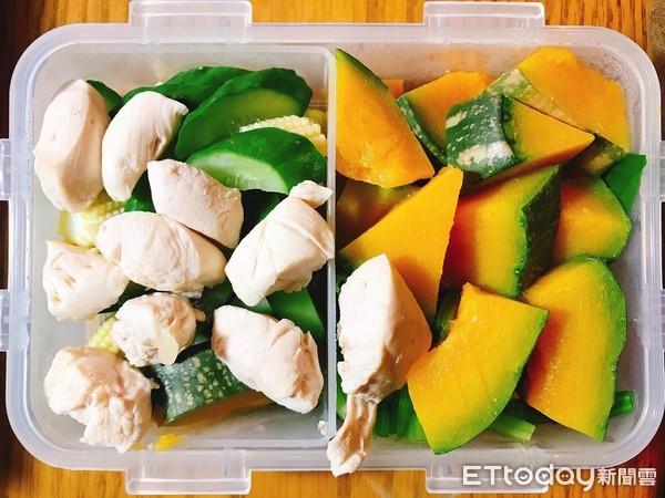 ▲水煮餐,減肥,養生,清淡。(圖/記者郭婕攝)