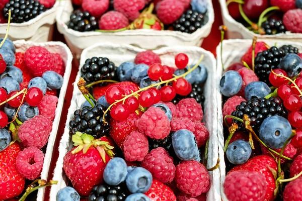 莓果。(圖/pixabay)