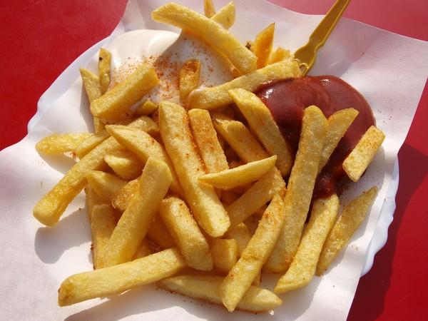 番茄醬,蕃茄醬,薯條。(圖/Pixabay)