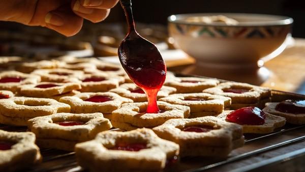 果醬,草莓果醬。(圖/Pixabay)
