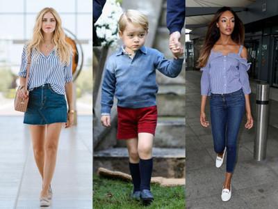 連喬治小王子都在穿!時尚名人大推的百搭鞋款公開