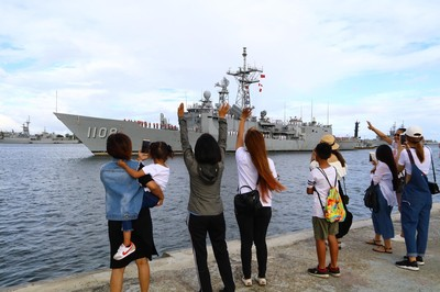 軍艦迷快筆記!3月限定 這14天都能免費登上海軍軍艦