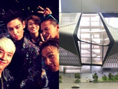 BIGBANG新歌在這錄音!YG新大樓超狂「透明設計砸13億」