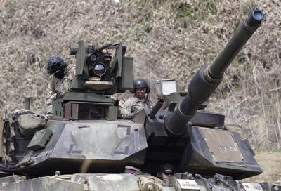 美擬售台108輛M1A2艾布蘭戰車 路透:恐激怒北京加劇貿易戰