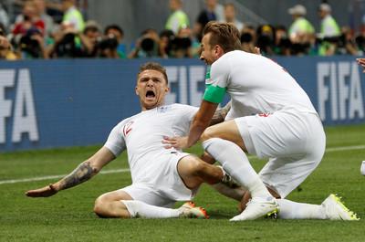 世足賽/英格蘭開賽5分鐘閃電進球 特里皮爾國家隊首球