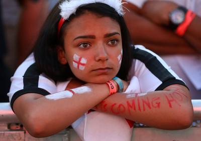 世足賽/足球仍回不了家!英格蘭落敗 對比克國球迷「別回家」