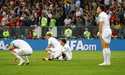 世足賽/1比2敗給克羅埃西亞 英格蘭全場11次射門僅1射正