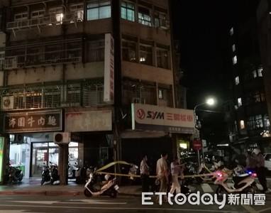 快訊/燒肉粽翻版!北市萬華男子墜樓 機車騎士被擊中送醫