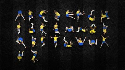 巴西設計師太有才 利用「內馬爾滾」拼出26個英文字母