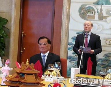 稱陸重視連戰造訪 劉結一:連瑪麗亞颱風都讓步