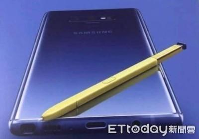 三星Galaxy Note 9宣傳海報曝光背面設計、藍色新色與S Pen